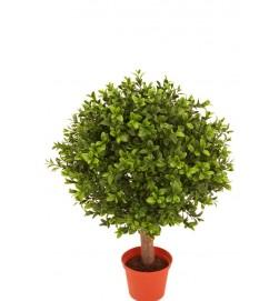 Buxbom på stam, konstgjord krukväxt
