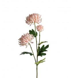 Chrysanthemum, rosa, konstgjord blomma