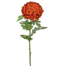 Chrysanthemum orange, konstgjord blomma