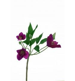 Clematis, lila, konstgjord blomma