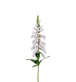 Fingerborgsblomma, vit, konstgjord blomma