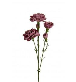 Elegance nejlika, ljuslila, konstgjord blomma