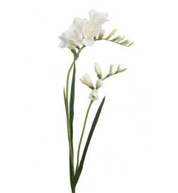 Freesia, vit, konstgjord blomma