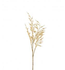 Gräs, ljust halmgula havreliknande ax, konstgjort