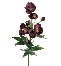 Julros, vinröd, konstgjord blomma