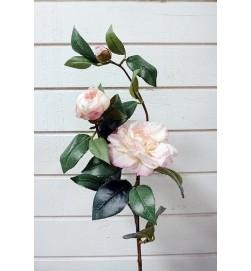 Kamelia, rosa, konstgjord blomma
