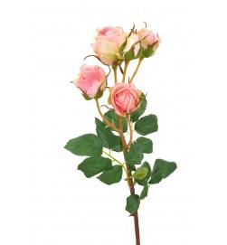 Kvistros, rosa, konstgjord blomma