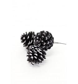 Kotte trådad, svart 3 st