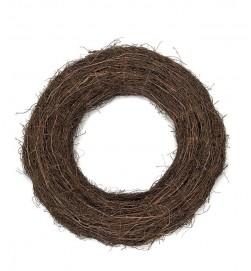Krans, gjord av grenar