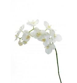 Orkidéstängel, creme, konstgjord