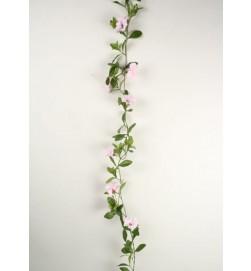 Petunia girlang, rosa, konstgjord