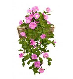 Petunia häng i kruka, lila, konstgjord