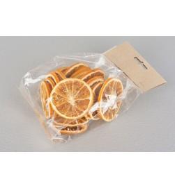 Apelsinskivor, torkade